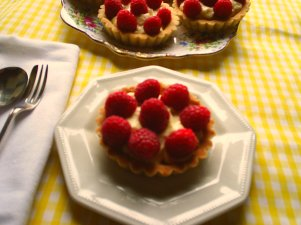 An easy Raspberry Tart recipe from French Recipes to Love.com