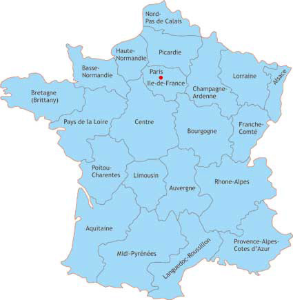 traditional french foods in every province