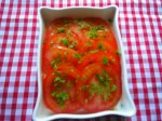 A Tomato Salad to add to your Hors d Oeuvres or Starters