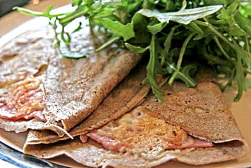 ham and cheese galette
