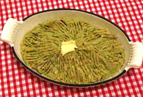 puree of sprouts