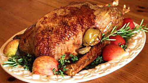 roast-goose-with-apples-and-herbs