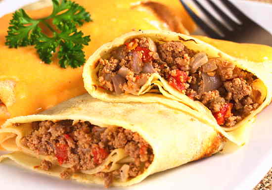 spicy-ground-beef-crepes
